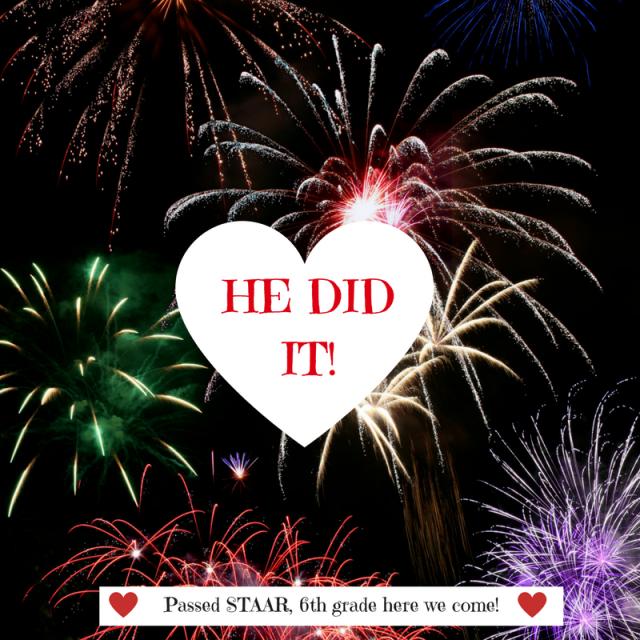 HE DID IT!
